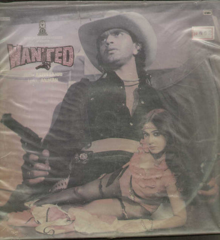 Wanted - Hindi 1980 LP Vinyl