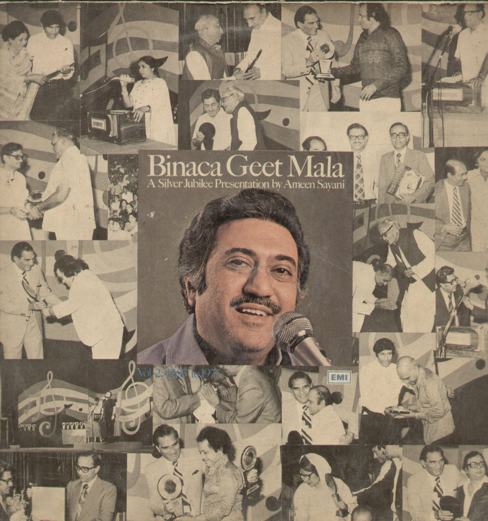 Binaca Geet Mala A Silver Jubilee Presentation By Ameen Sayani - Compilations Bollywood Vinyl LP