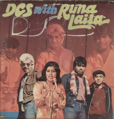 D.C.S With Runa Laila - Hindi Bollywood Vinyl LP