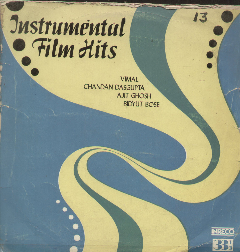 Instrumental Film Hits - Instrumental Bollywood Vinyl LP