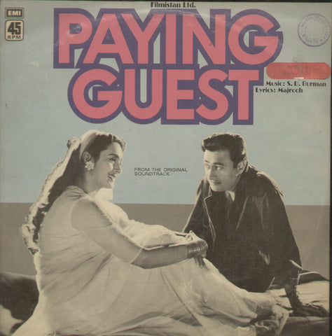 Paying Guest - Hindi Bollywood Vinyl LP