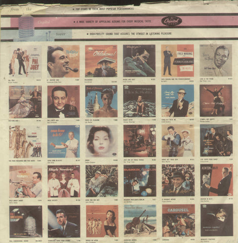 Classical Songs From Films Vol 2 - Hindi Classical Bollywood Vinyl LP - No Sleeve