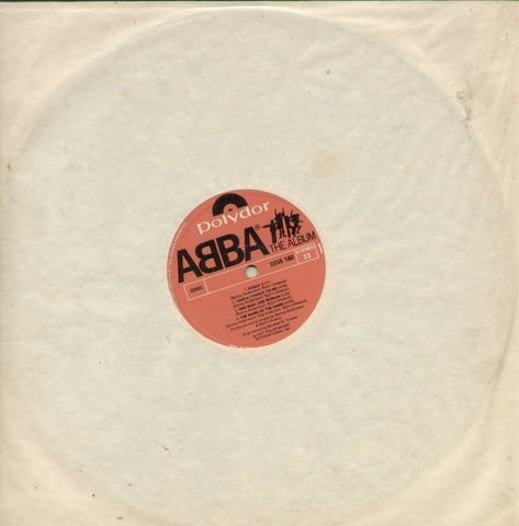 Abba The Album - English Bollywood Vinyl LP - No Sleeve