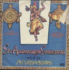 Sri Annamacharya Samkirtanas - Devotional Bollywood Vinyl LP