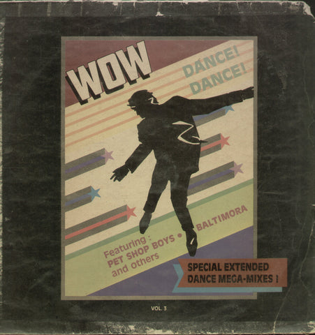 Wow Dance Dance - English Bollywood Vinyl LP