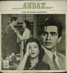 Andaz - Hindi Bollywood Vinyl LP