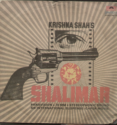 Shalimar - Hindi Bollywood Vinyl LP