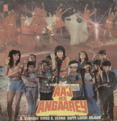 Aaj Ke Angaarey - Hindi Bollywood Vinyl LP
