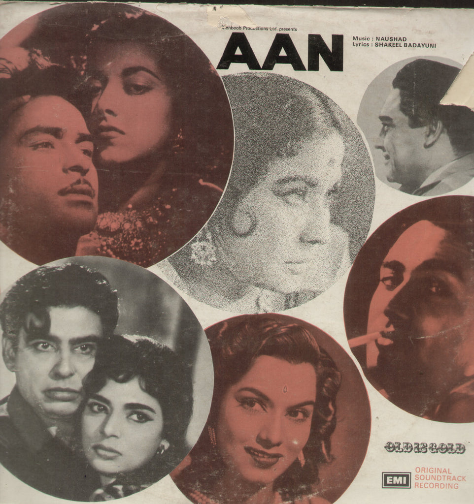 Aan - Hindi Bollywood Vinyl LP