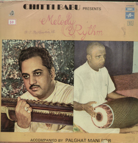 Chittibabu Melody Rythm - Compilations Bollywood Vinyl LP