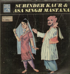 Surinder Kaur and Asa Singh Mastana - Compilations Bollywood Vinyl LP