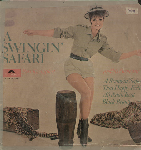 A Swingin Safari Kaempfert and His Orchestra - English Bollywood Vinyl LP