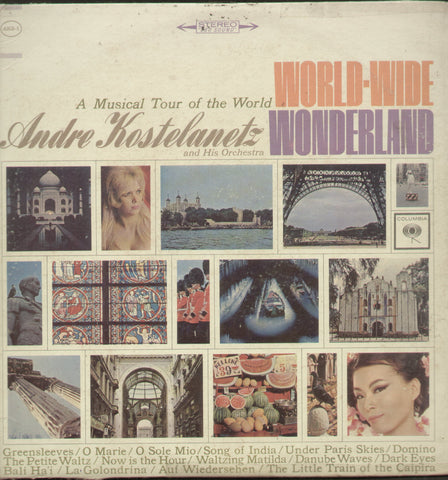 World Wide Wonderland A Musical Tour of The World - English Bollywood Vinyl LP