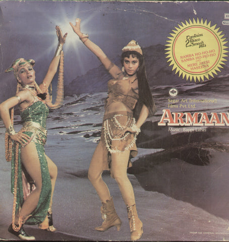 Armaan - Hindi Bollywood Vinyl LP