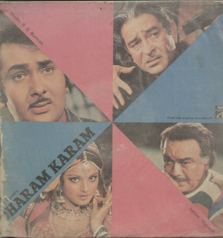 Dharam Karam - Hindi Bollywood Vinyl LP