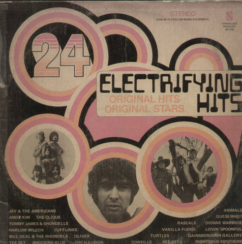 24 Electrifying Hits - English Bollywood Vinyl LP