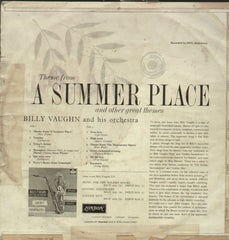 A Summer Place and Other Great Themes - English Bollywood Vinyl LP