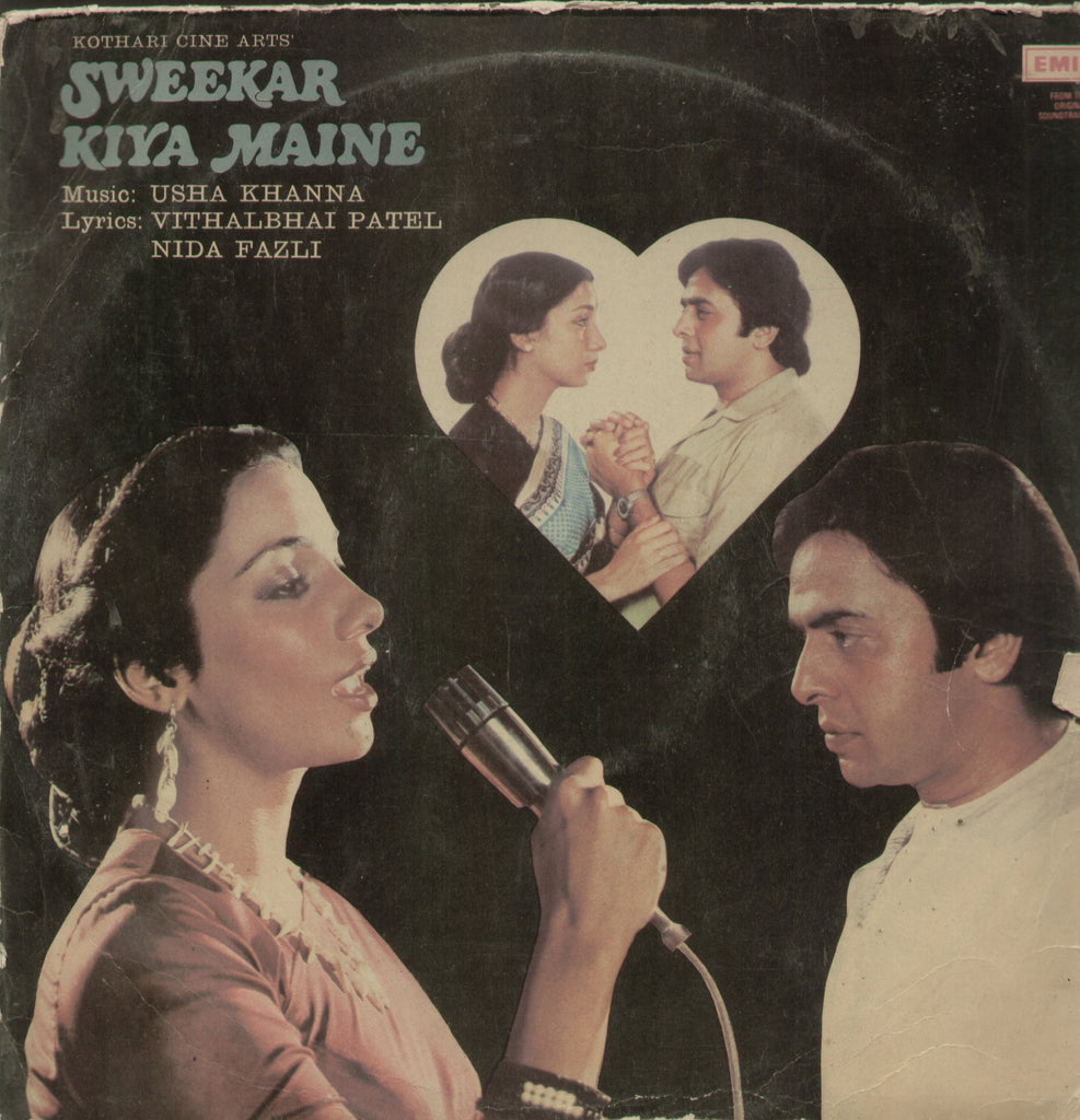 Sweekar Kiya Maine - Hindi Bollywood Vinyl LP