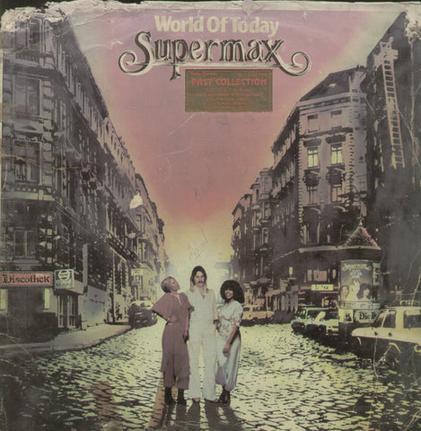 World of Today Supermax - English Bollywood Vinyl LP