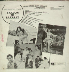 Yaadon Ki Baaraat - Hindi Bollywood Vinyl LP
