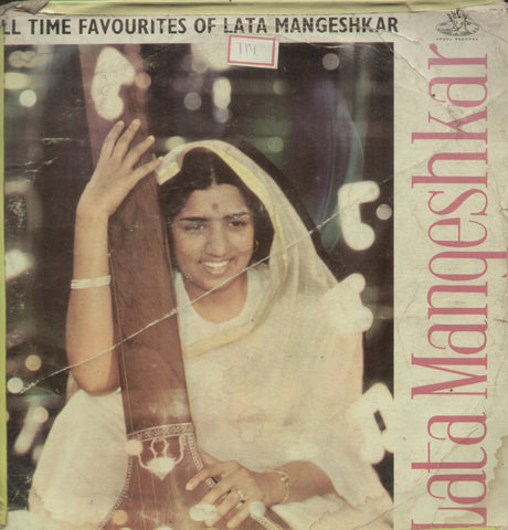 All Time Favourites of Lata Mangeshkar - Hindi Bollywood Vinyl LP