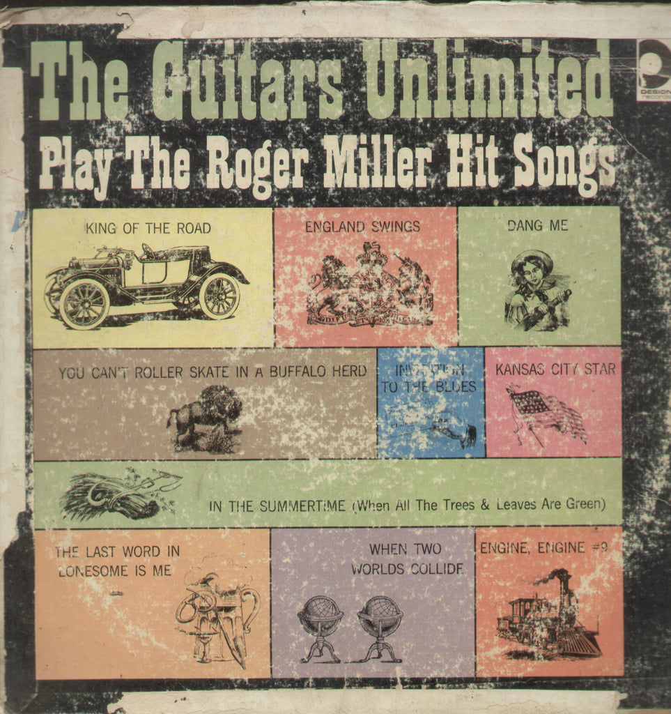 The Guitars Unlimited Play The Roger Miller Hit Songs - English Bollywood  Vinyl LP