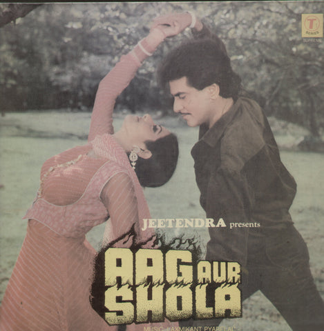 Aag Aur Shola - Hindi Bollywood Vinyl LP