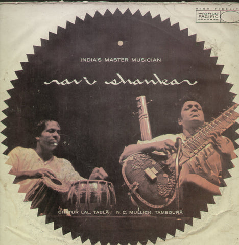 India's Master Musician Ravi Shankar - Classical Bollywood Vinyl LP