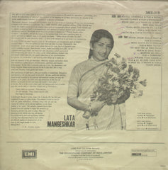 Haunting Melodies of Lata Mangeshkar - Hindi Bollywood Vinyl LP