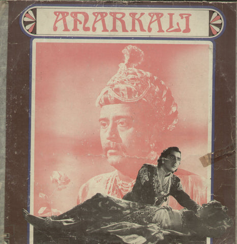 Anarkali - Hindi Bollywood Vinyl LP