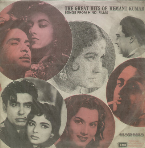 The Great Hits of Hemant Kumar - Hindi Bollywood Vinyl LP