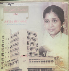 Asha Bhosle Voice With a Difference - Hindi Bollywood Vinyl LP