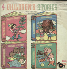 4 Children's Stories - English Bollywood Vinyl LP