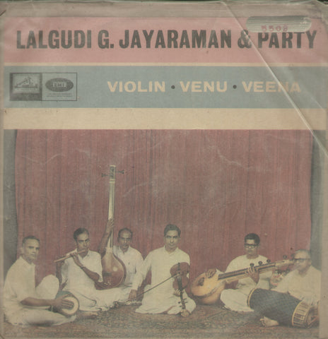 Lalgudi G. Jayaraman and Party - Instrumental Bollywood Vinyl LP