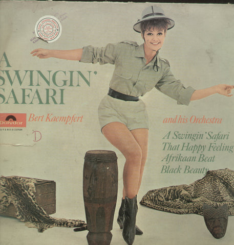 A Swingin Safari Kaemfert and His Orchestra - English Bollywood Vinyl LP