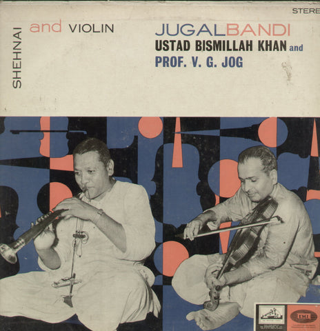 Jugalbandi Shehnai and Violin - Classical Bollywood Vinyl LP