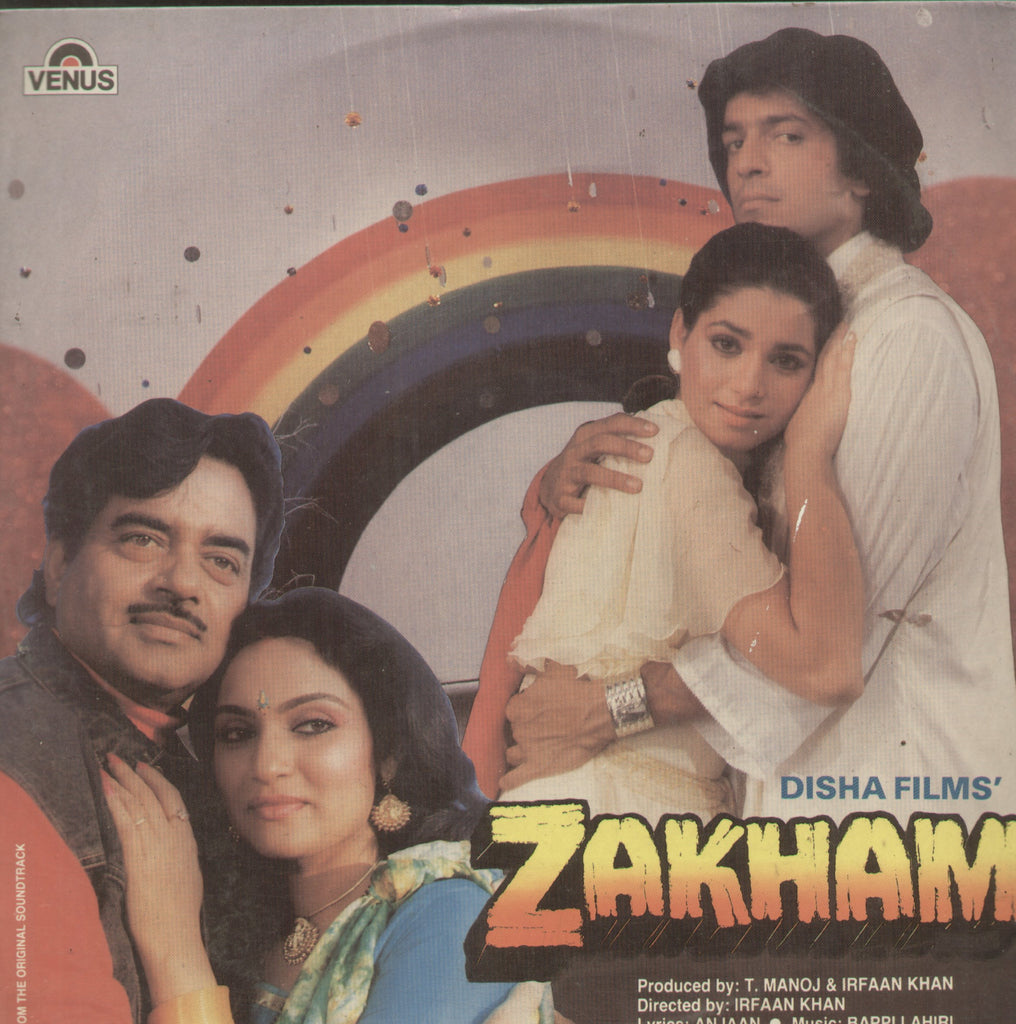 Zakham - Hindi Bollywood Vinyl LP