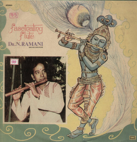 Fascinating Flute Dr. N. Ramani - Classical Bollywood Vinyl LP