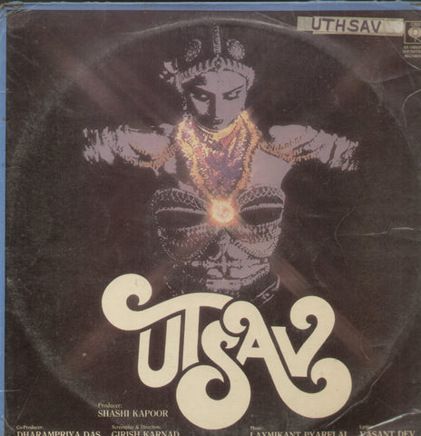 Utsav - Hindi Bollywood Vinyl LP