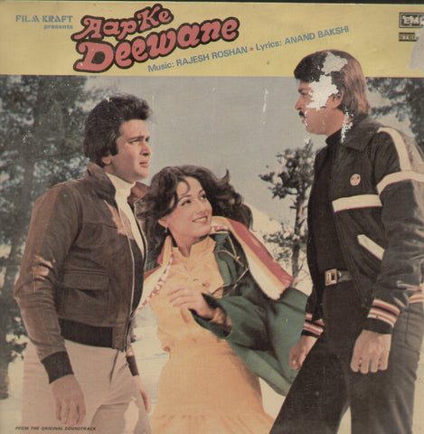 Aap Ke Deewane - Hindi Bollywood Vinyl LP