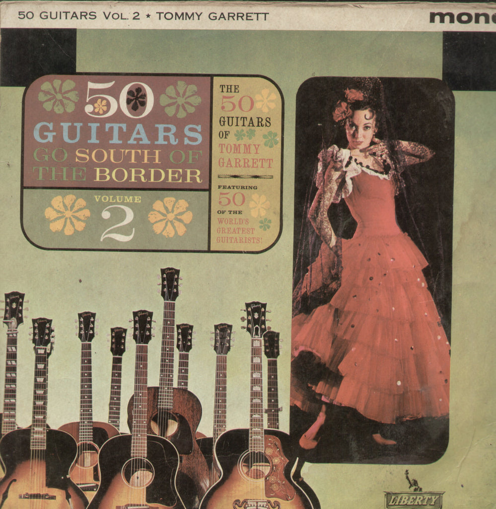 50 Guitars Go South of The Border - English Bollywood Vinyl LP
