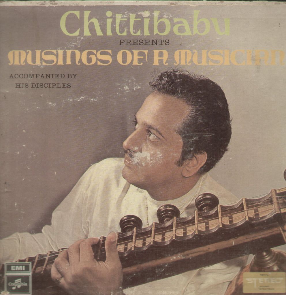 Chittibabu Musings of a Musician - Instrumental Bollywood Vinyl LP