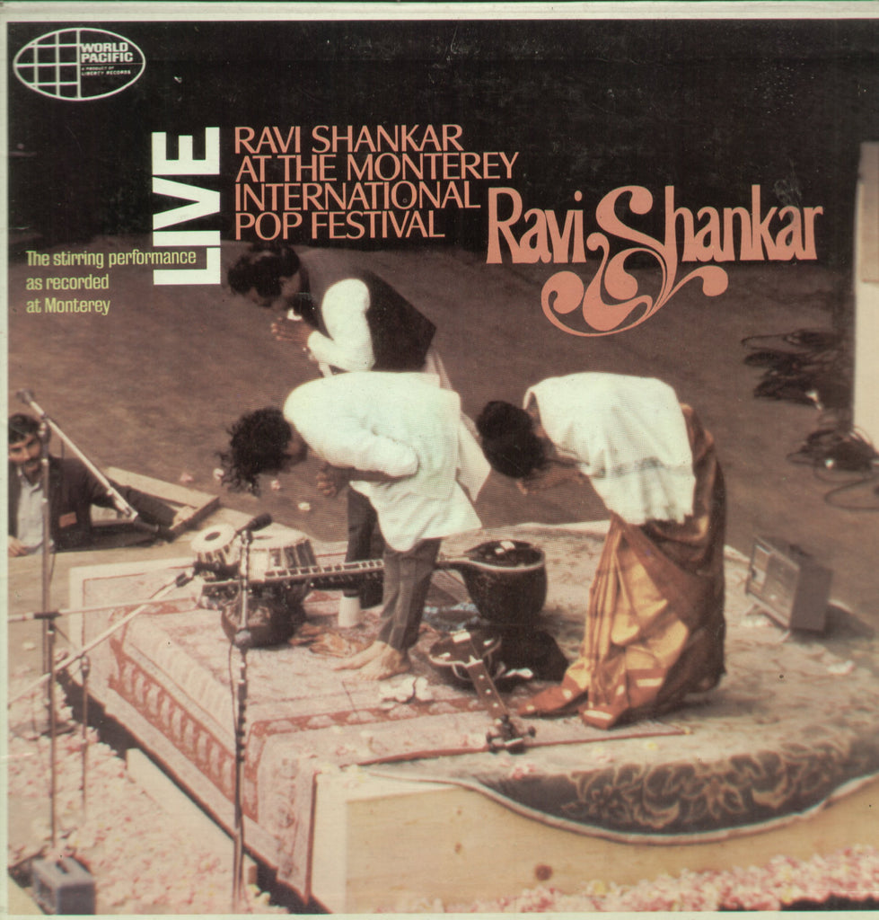 Ravi Shankar At The Monterey International Pop Festival - Compilations Bollywood Vinyl LP