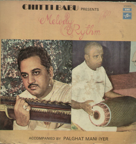 Chitti Babu Presents Melody Rythm - Classical Bollywood Vinyl LP