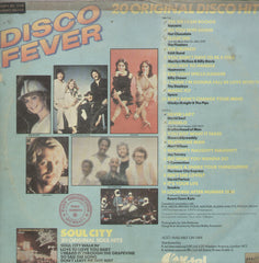 20 Original Disco Hits Disco Fever - English Bollywood Vinyl LP