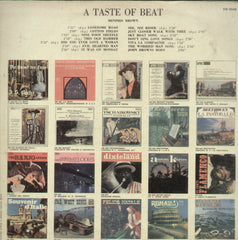 A Taste of Beat - English Bollywood Vinyl LP