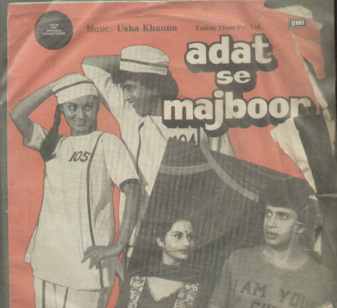 Adat Se Majboor - Hindi Bollywood Vinyl LP