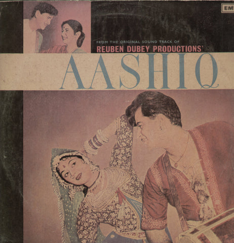Aashiq - 1970's hit Hindi Indian Vinyl LP