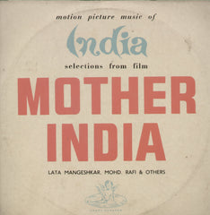 Mother India - Hindi Bollywood Vinyl LP