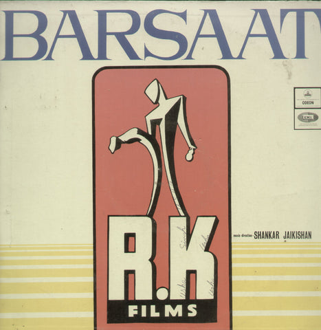 Barsaat - Hindi Bollywood Vinyl LP